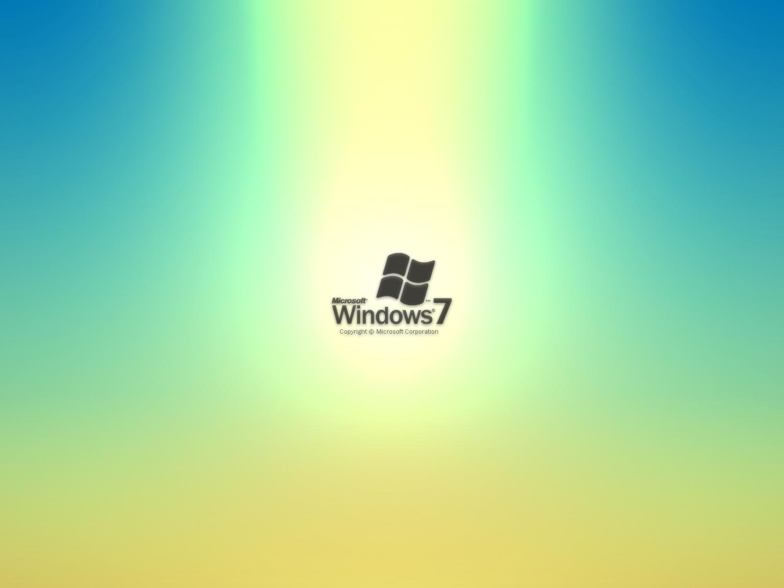 Wallpaper PC » Windows 7 Blended Wallpaper