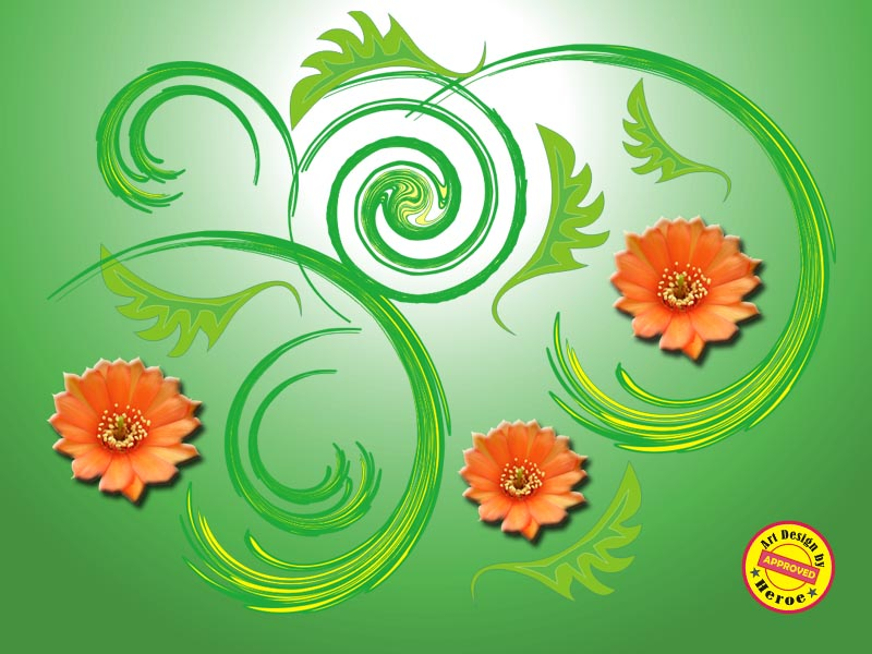 batik motif flora lingkar 3 kreatifitasdir