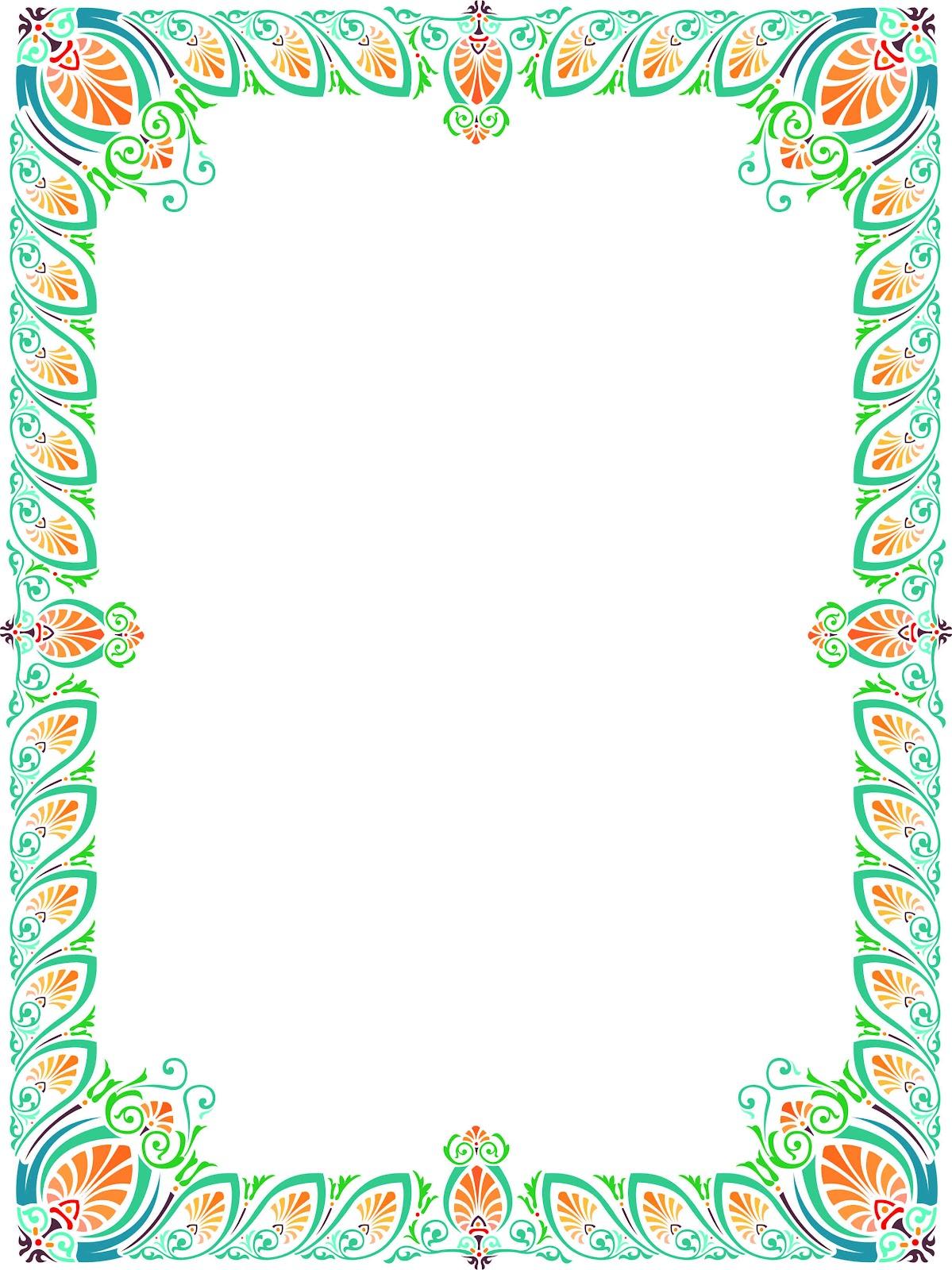 Bingkai dan beground indah » Bingkai Piagam 19