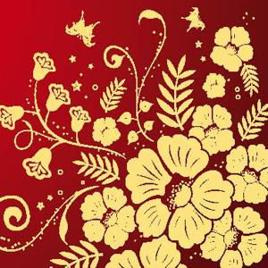 Contoh Gambar Batik Bunga Our Families Journey