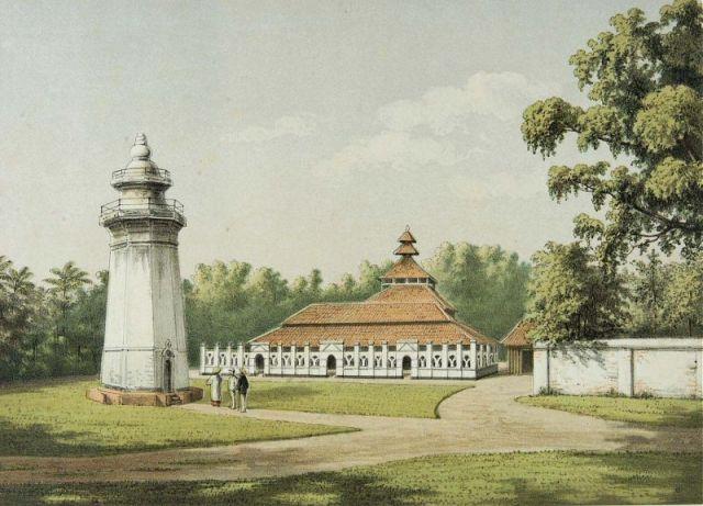 COLLECTIE_TROPENMUSEUM_De_moskee_en_minaret_in_Karang_Antu_TMnr_3728-818